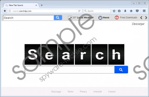 Search.searchdp.com Removal Guide