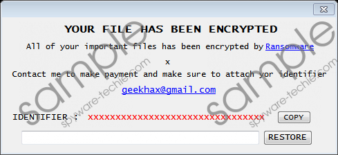 Final Ransomware Removal Guide