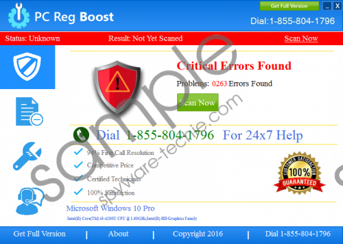 PC Reg Boost Removal Guide
