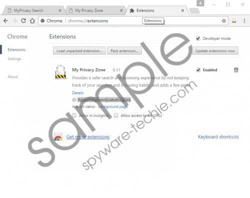 Search.myprivacy.zone Removal Guide