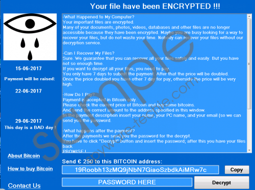 CryForMe Ransomware Removal Guide