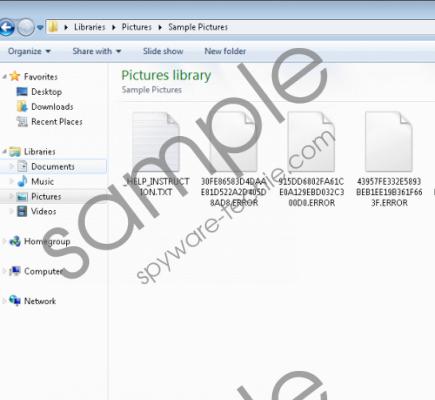 Error Ransomware Removal Guide