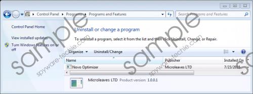 Novo Optimizer Gpu Miner Removal Guide
