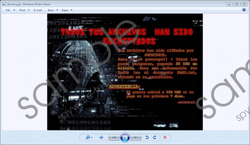 Anoncrack Ransomware Removal Guide