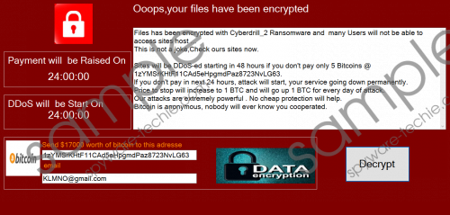 CyberDrill Ransomware Removal Guide