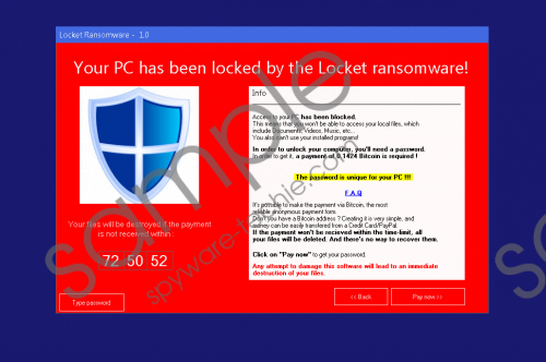 Locket Ransomware Removal Guide