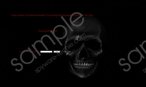 SkullLocker Screenlocker Removal Guide
