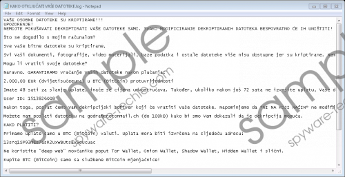 Godra Ransomware Removal Guide
