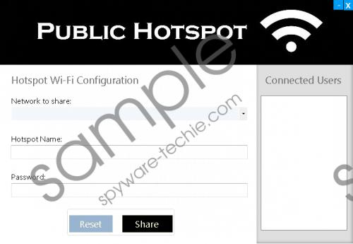 PublicHotsp Removal Guide