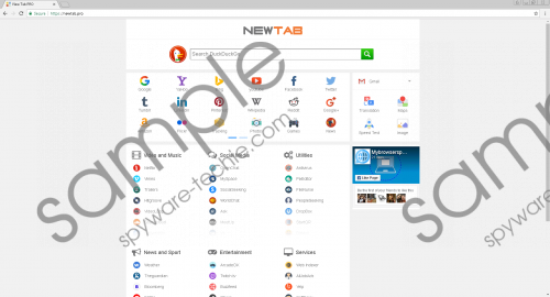 Newtab.pro Removal Guide