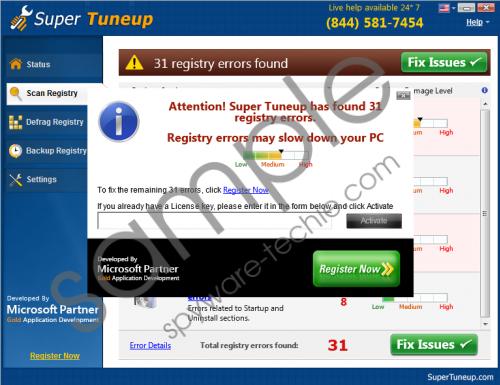 Super Tuneup Removal Guide
