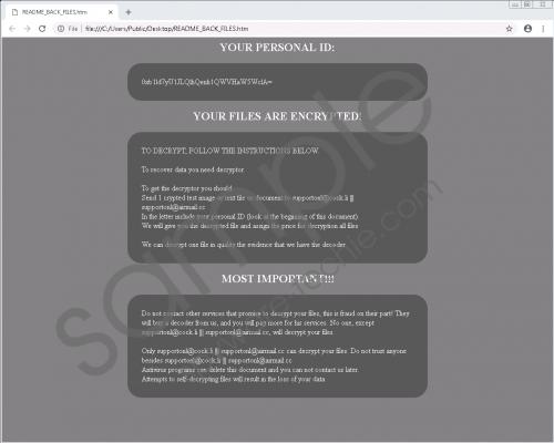 Eq Ransomware Removal Guide