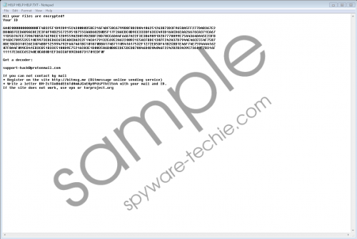 Scarab-Apple Ransomware Removal Guide