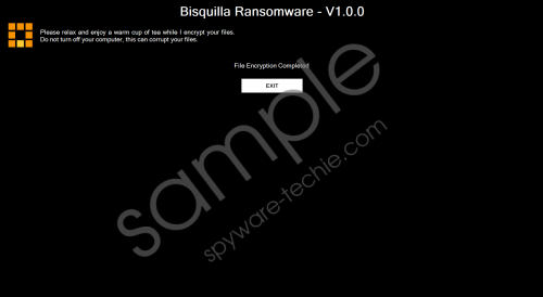 Bisquilla Ransomware Removal Guide