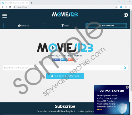 Movies123 Ads Removal Guide