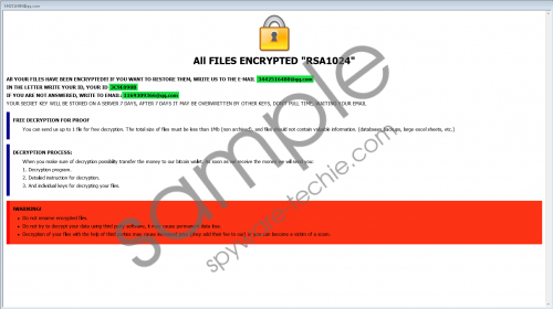 3442516480@qq.com Ransomware Removal Guide