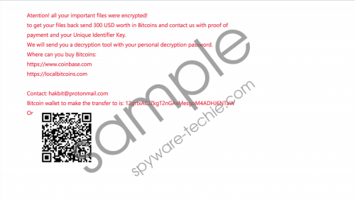 Hakbit Ransomware Removal Guide