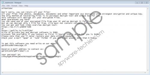Seto Ransomware Removal Guide
