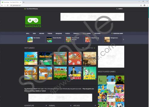 gamenaps.com Removal Guide