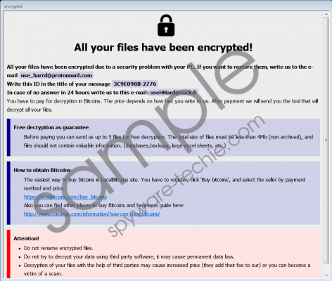 Eight Ransomware Removal Guide