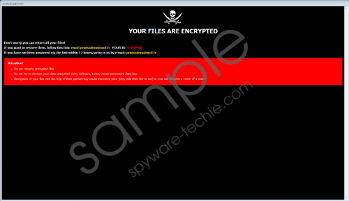 Prnds Ransomware Removal Guide