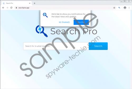 Search Pro Removal Guide