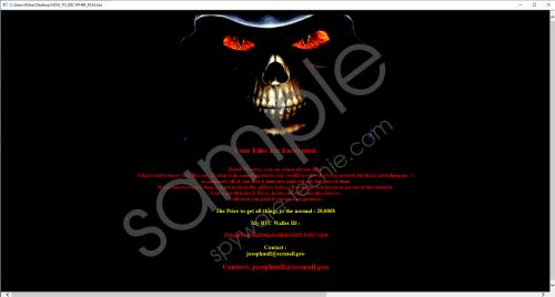 Josephnull Ransomware Removal Guide