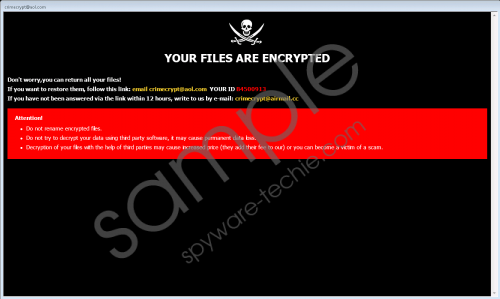 Smpl Ransomware Removal Guide