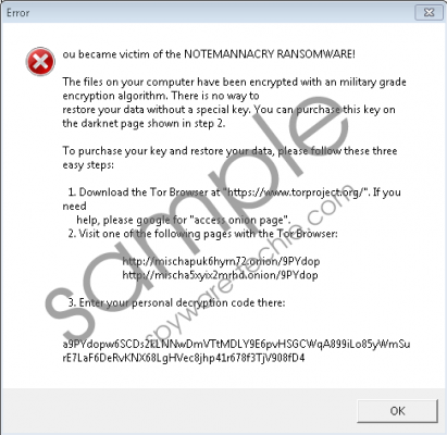 Wannacry666 Ransomware Removal Guide