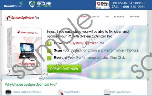 System Optimizer Pro Removal Guide